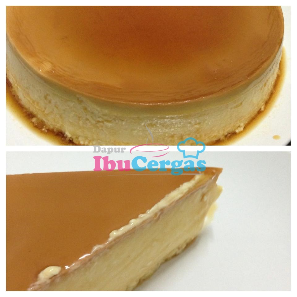 Cheese Puding Karamel